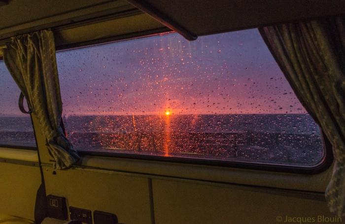 coucher soleil lac-saint-jean