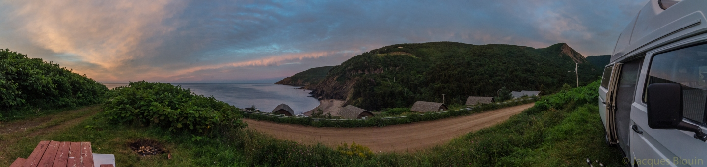 meat cove ns panoramique